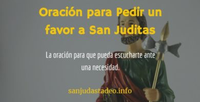 san judas pedir un favor